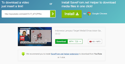 Cara Download Video YouTube yang Tidak Tersedia Offline