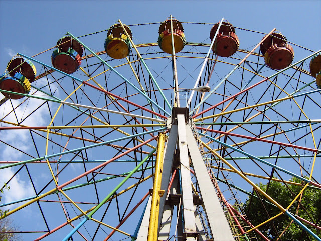 All Abroad the Fail Wheel: Visiting the Chisinau Amusement Park with My Cousin.