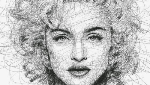 08-Madonna-Face-Malaysian-Artist-Vince-Low-Scribble-Dyslexia-www-designstack-co