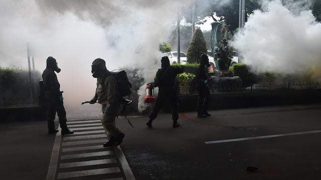 Jelang KTT OKI TNI-Polri Gelar Simulasi Penangkapan Teroris
