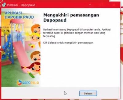 Cara Download dan Instal Dapodik PAUD 3.3.0