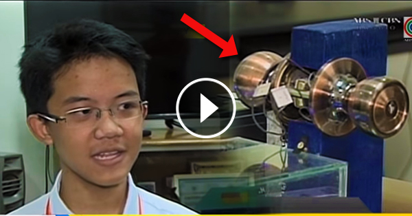 Anti-theft Security Device Was Invented By A Filipino Grade 9 Student
