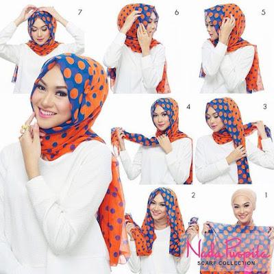Tutorial Style Hijab Pashmina Turkish