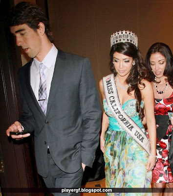 Michael Phelps Supporting Girlfriend Nicole IPfcvp N L