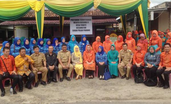 TP PKK Kabupaten Pali Studi Banding ke OKI