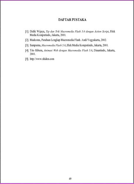 Abstrak Daftar Pustaka Noname Zone