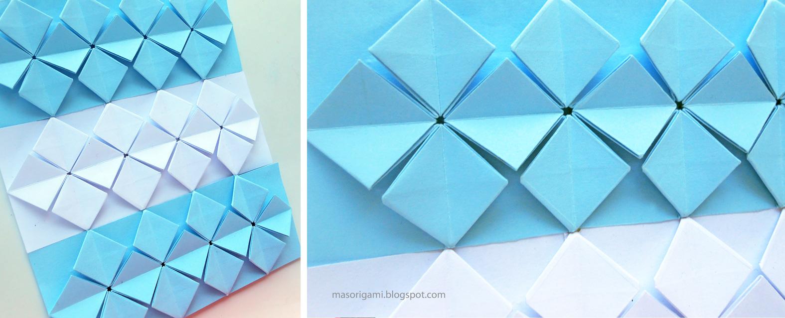 Mas origami bandera argentina de origami for Papel de pared argentina