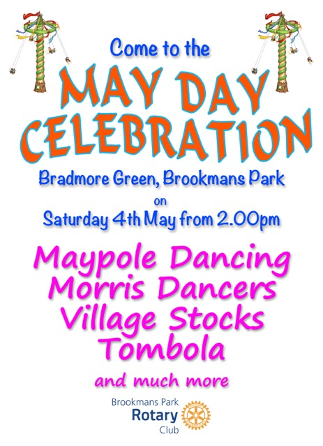 Rotary May Day poster