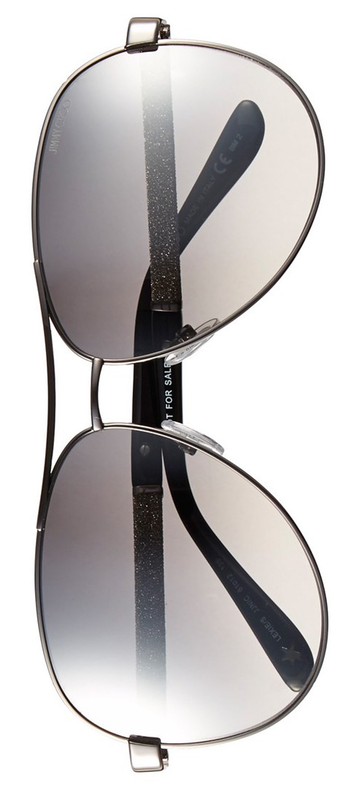 Jimmy Choo 'Lexie/S' 61mm Metal Aviator Sunglasses