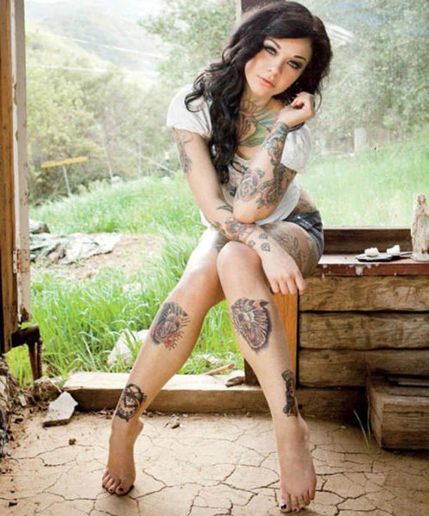 Mais gatas tatuadas