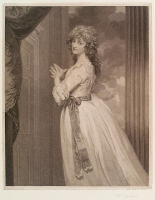 Dorothea Jordan by John Ogborne after George Romney, 1788