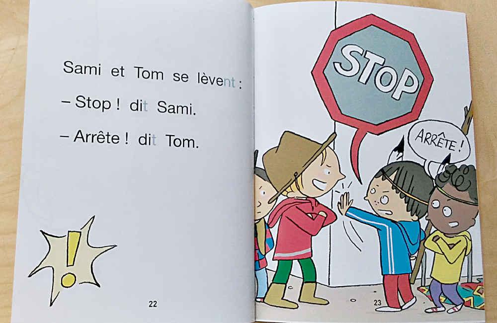J'apprends à lire avec Sami et Julie cahier de lecture pages
