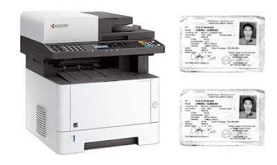 Terbaru cara fotocopy ktp bolak balik dengan Mesin kyocera