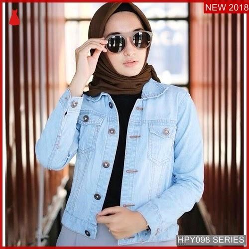 HPY098J154 Jaket Jeans Anak Basic Murah BMGShop