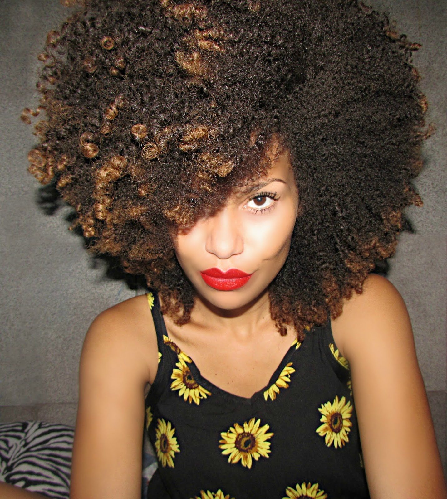 Loana From Brazil I Was Looking For My Own Identity So I Decided To Start With The Hair Curlynikki Natural Hair Care