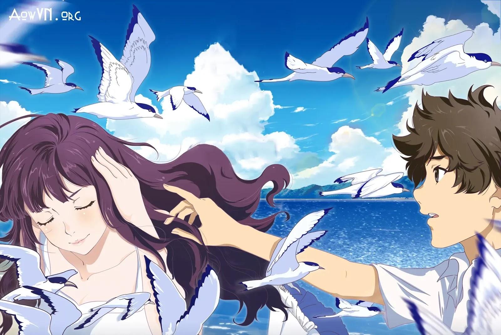 AowVN.org minz%2B%25286%2529 - [ Hình Nền ] Anime Uchiage Hanabi Shita Kara Miru Ka cực đẹp | AowVN Wallpapers
