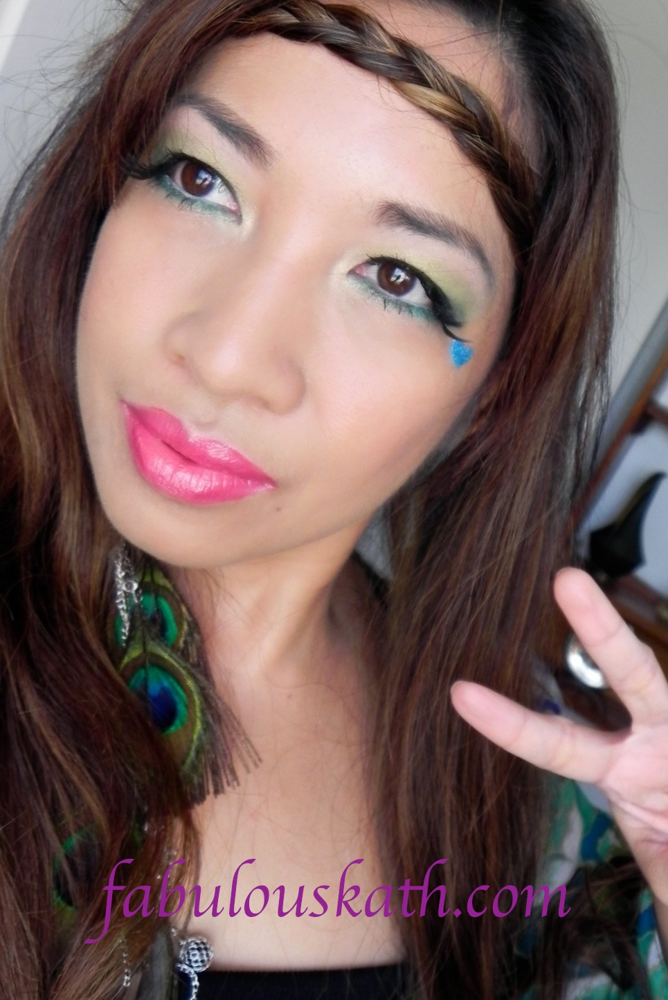 HIPPIE 70's - Make up Tutorial - YouTube |Hippies Short Hair And Makeup