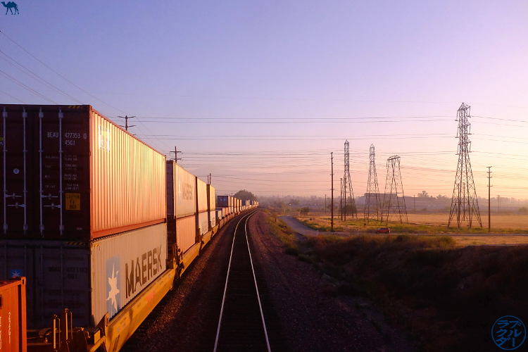 Le Chameau Bleu - Blog Voyage Los Angeles -  Southwest Chief train - Paysage Américain