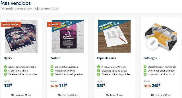 Los mas vendidos de Helloprint