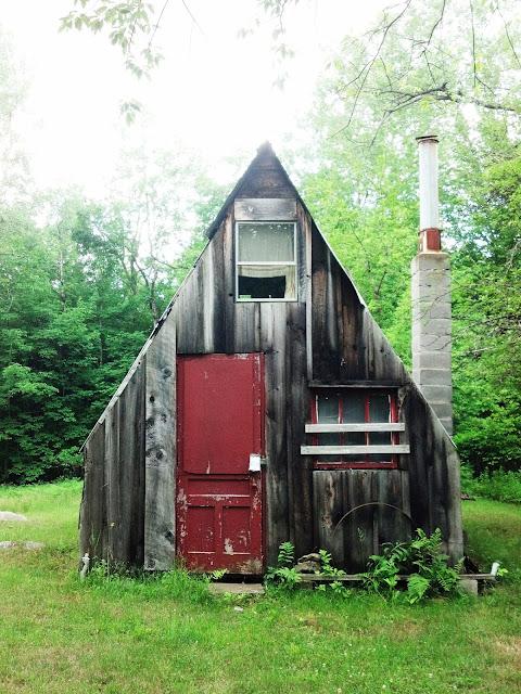 "A Frame Cabin Contemporary House Plan 90603: Relaxshacks.com: ""Good A"" Mate.....An A-frame Tiny Cabin"