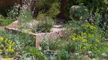 El paraíso mediterráneo de Sarah Price en Chelsea Flower Show