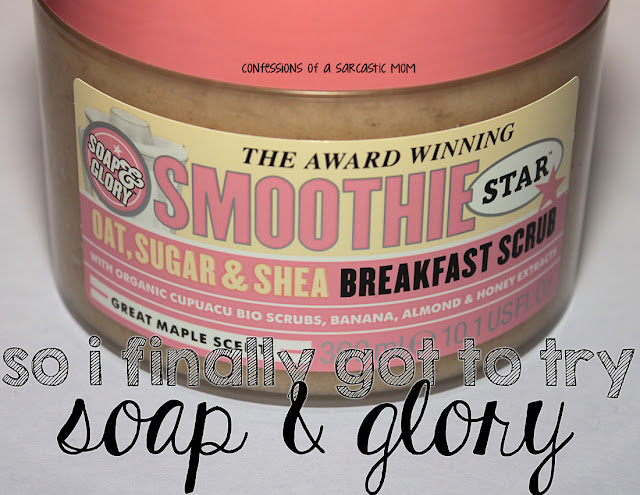 Soap & Glory Smoothie Star Breakfast Scrub