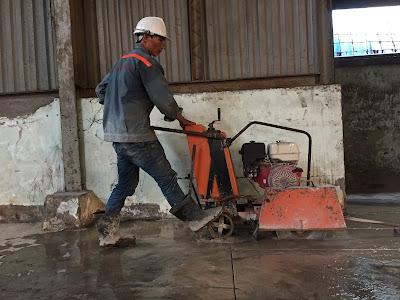 Khoan cắt bê tông tại thị xã Duyên Hải