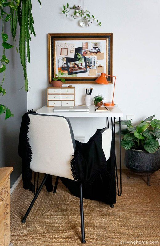 Increase productivity by adding some greenery to your workspace- design addict mom