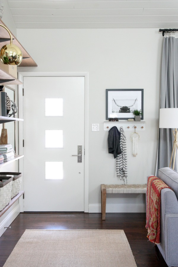 Cómo crear un recibidor en un espacio abierto al salón