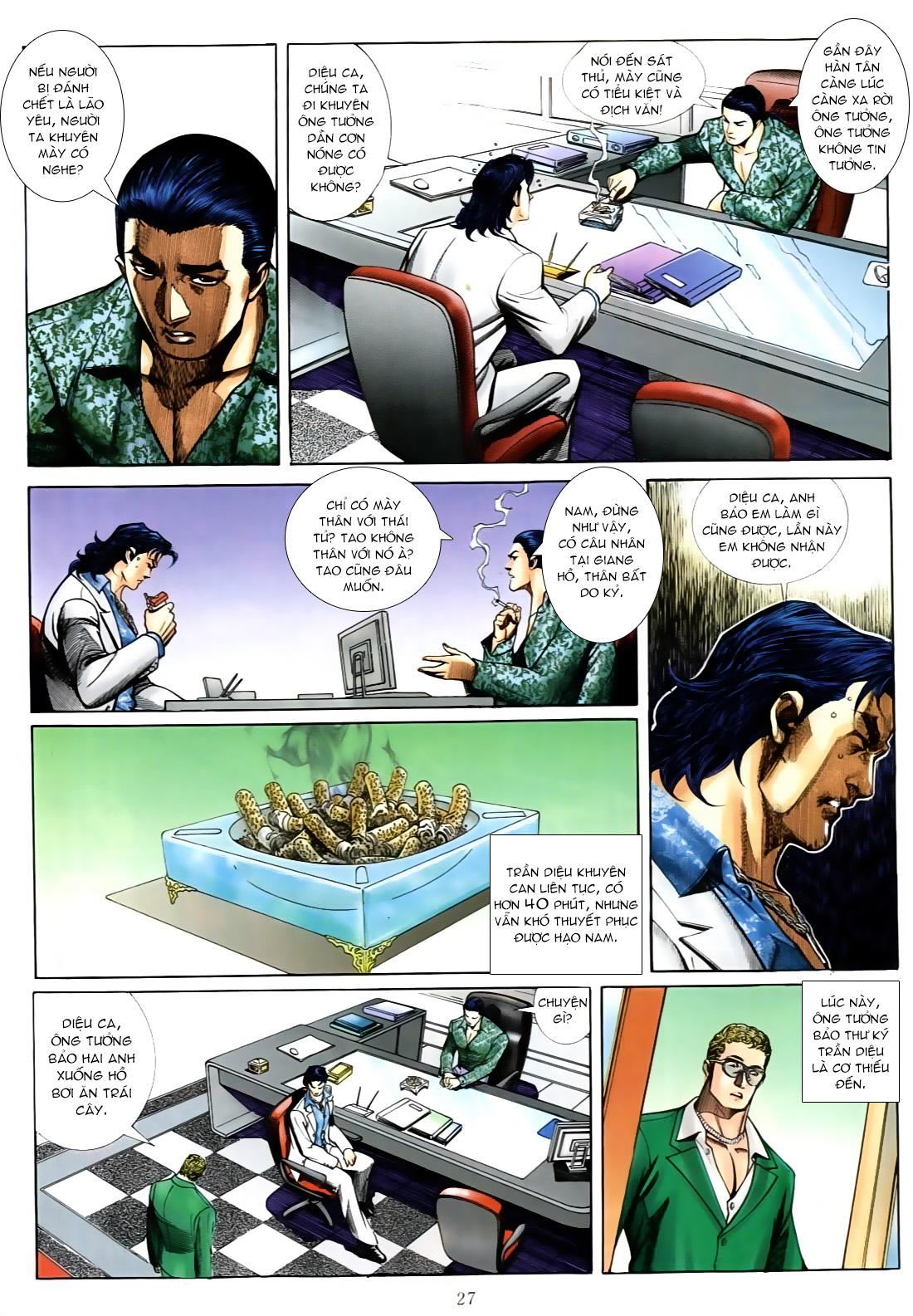 Người Trong Giang Hồ chapter 556: làm khó nam đẹp trai trang 19