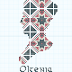 Romanian Pattern Cross Stitch: Oltenia (Mehedinți)