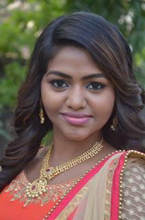 Actress Shalu Shamu Stills in Red Dress at Kekran Mekran Audio Launch 0001