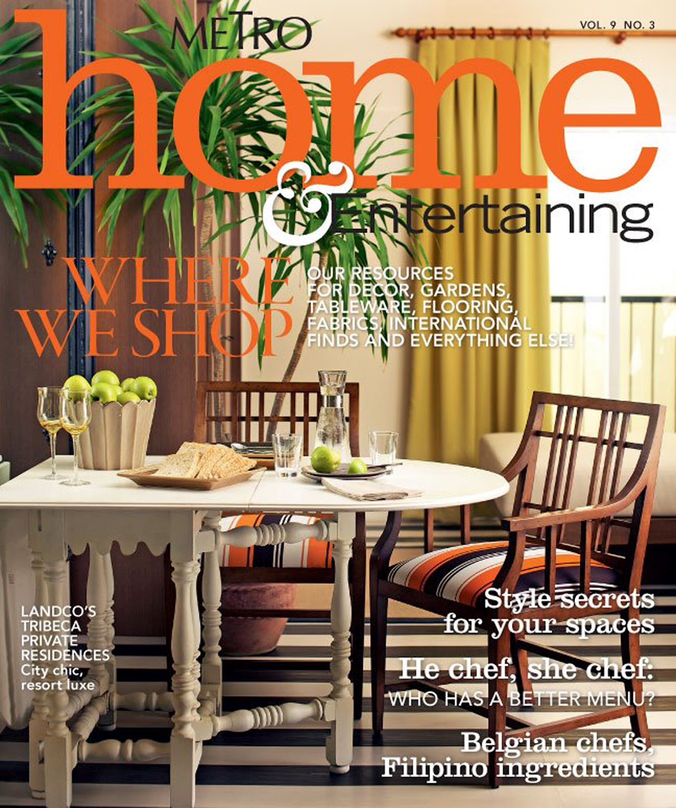 Home Magazine: First Person Singular: Metro Home & Entertainment