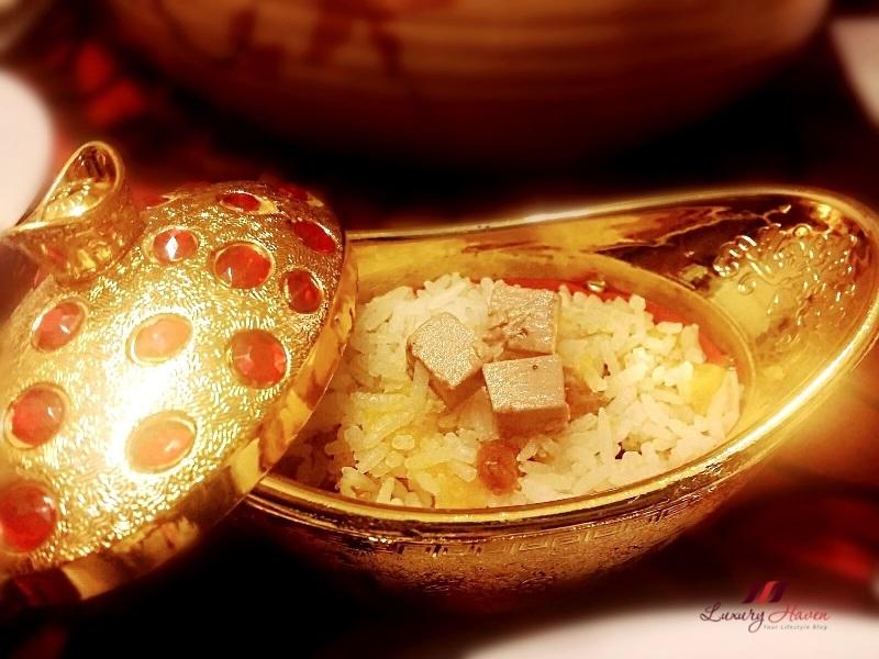 singapore food blog foie gras pumpkin rice recipe