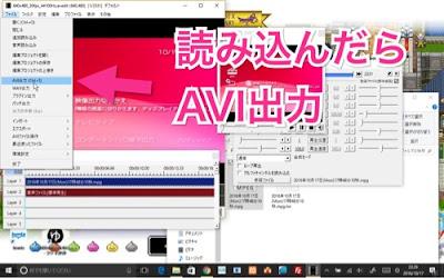 AviUtlでエンコード画像2