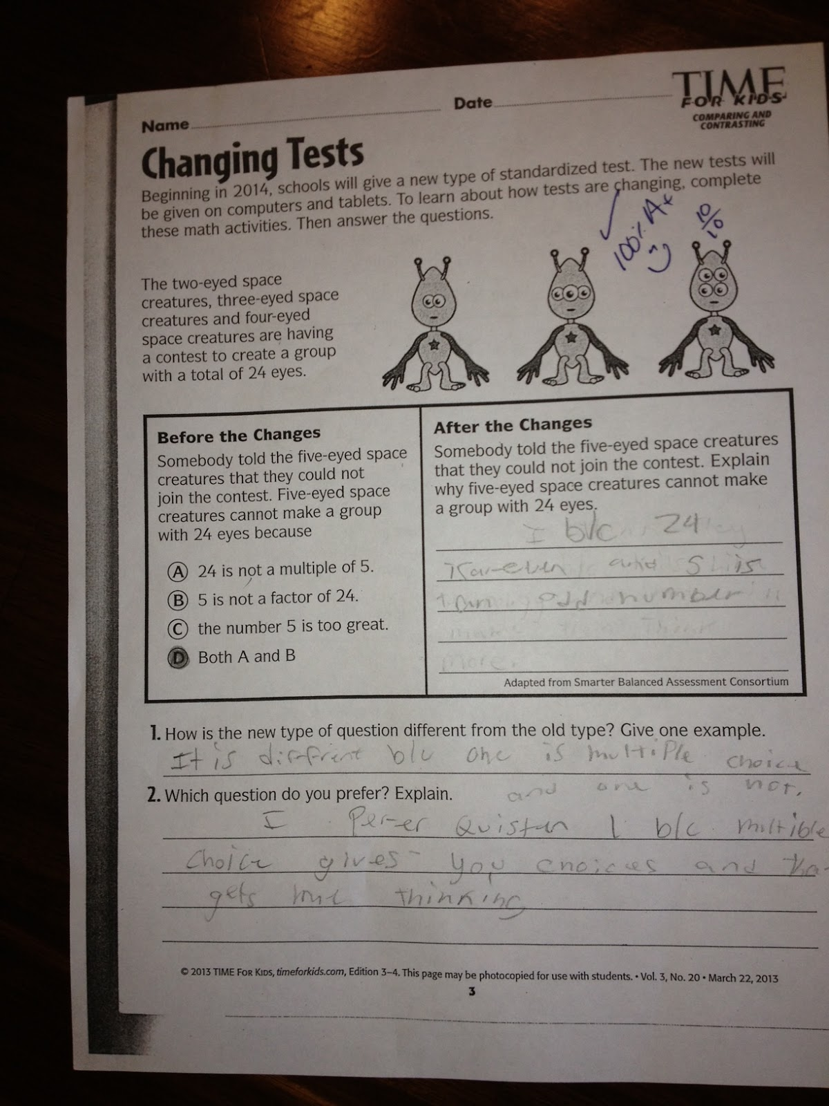 Missouri Education Watchdog A Common Core Worksheet From