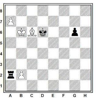 Problema ejercicio de ajedrez número 738: Estudio de Joaquim Travesset (Butlletí Federació Catalana d'Escac, 1979)