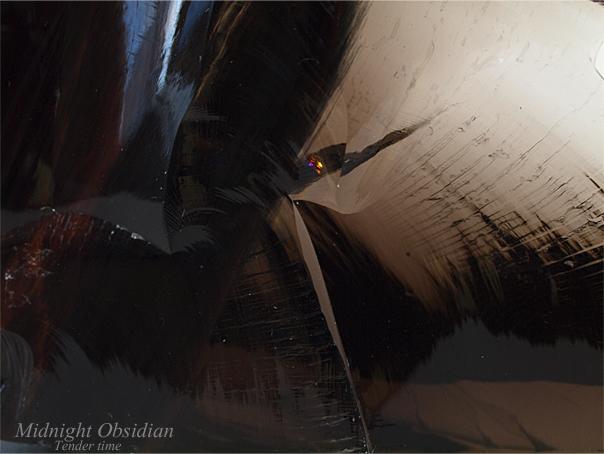 ミッドナイトオブシディアン Midnight Obsidian Kyzyl Kum, Armenia