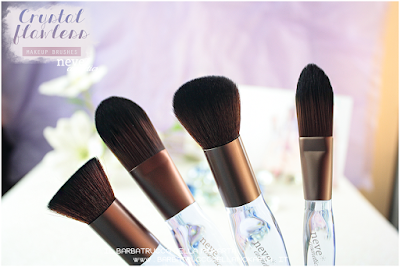 review Crystal flat NeveCosmetics Crystal Flawless Brushes