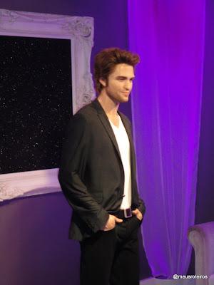 Robert Pattinson de cera - Museu Madame Tussauds, Londres