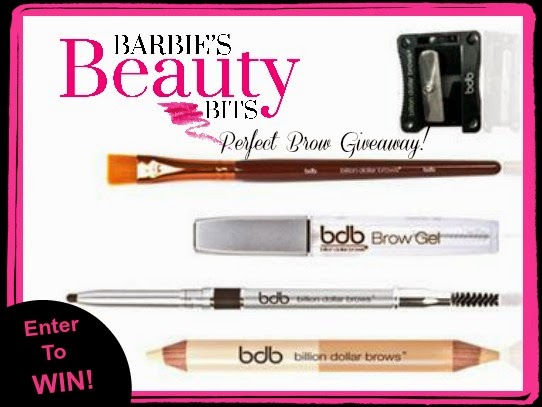 Win a billion dollar brow holiday set by barbies beauty bits