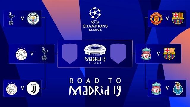 Liga Champions TeeDramatis ! Ini 5 Pertandingan Comeback Di Liga Champions Musim Ini