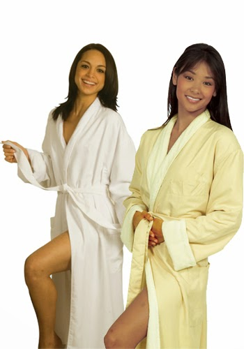 Luxury Microfiber Robe with Terry Lining picture
