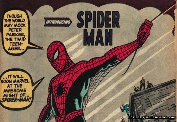 Komik Edisi Pertama Spiderman
