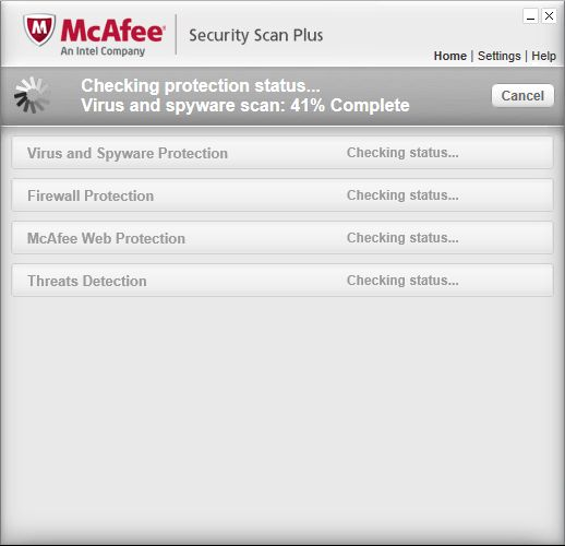 McAfee Security Scan Plus | Supratim Sanyal's Blog