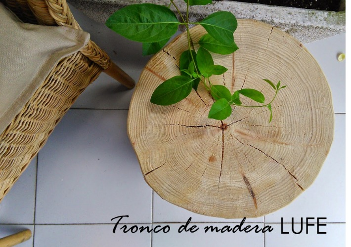 Tronco LUFE ayudaadecorar.blogspot.com.es