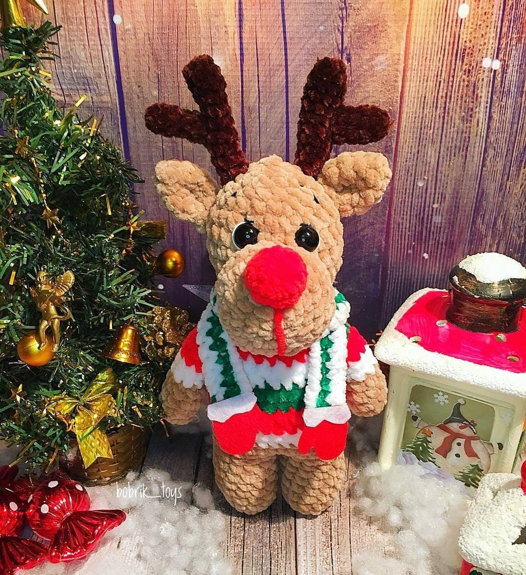 Crochet reindeer amigurumi   Amigurumi free pattern, Amigurumi pattern   1180x1080
