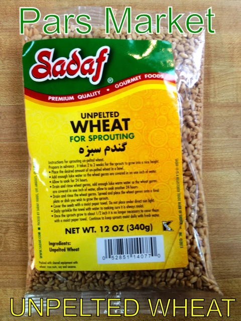 Sadaf Brand Unpelted Wheat at Pars Market