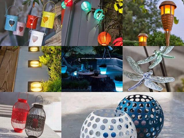 Garden Lighting Accessories & A Delightful Case Study
