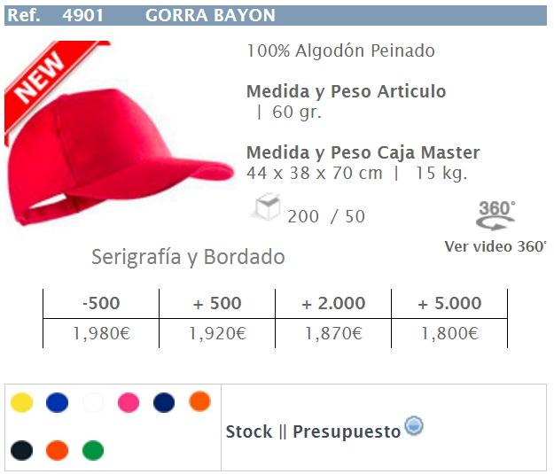 12d68865420e Serigrafía y Publicidad: Gorras Personalizadas Bordadas
